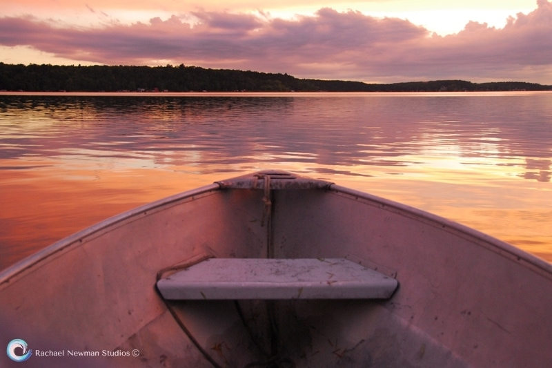 Sunset Boat by Rachael Newman 800 by 533