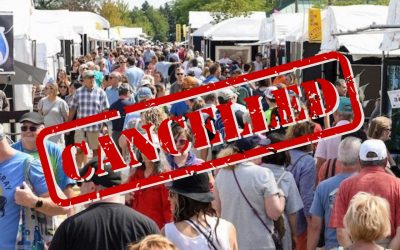 Art Shows Cancelled Due to COVID-19