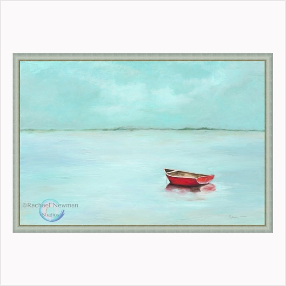 Red Boat by Rachael Newman