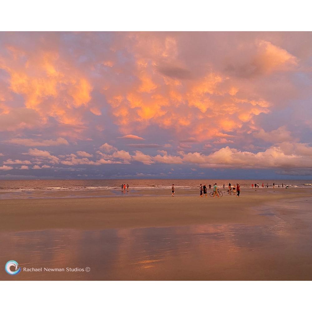 Beach Glow by Rachael Newman