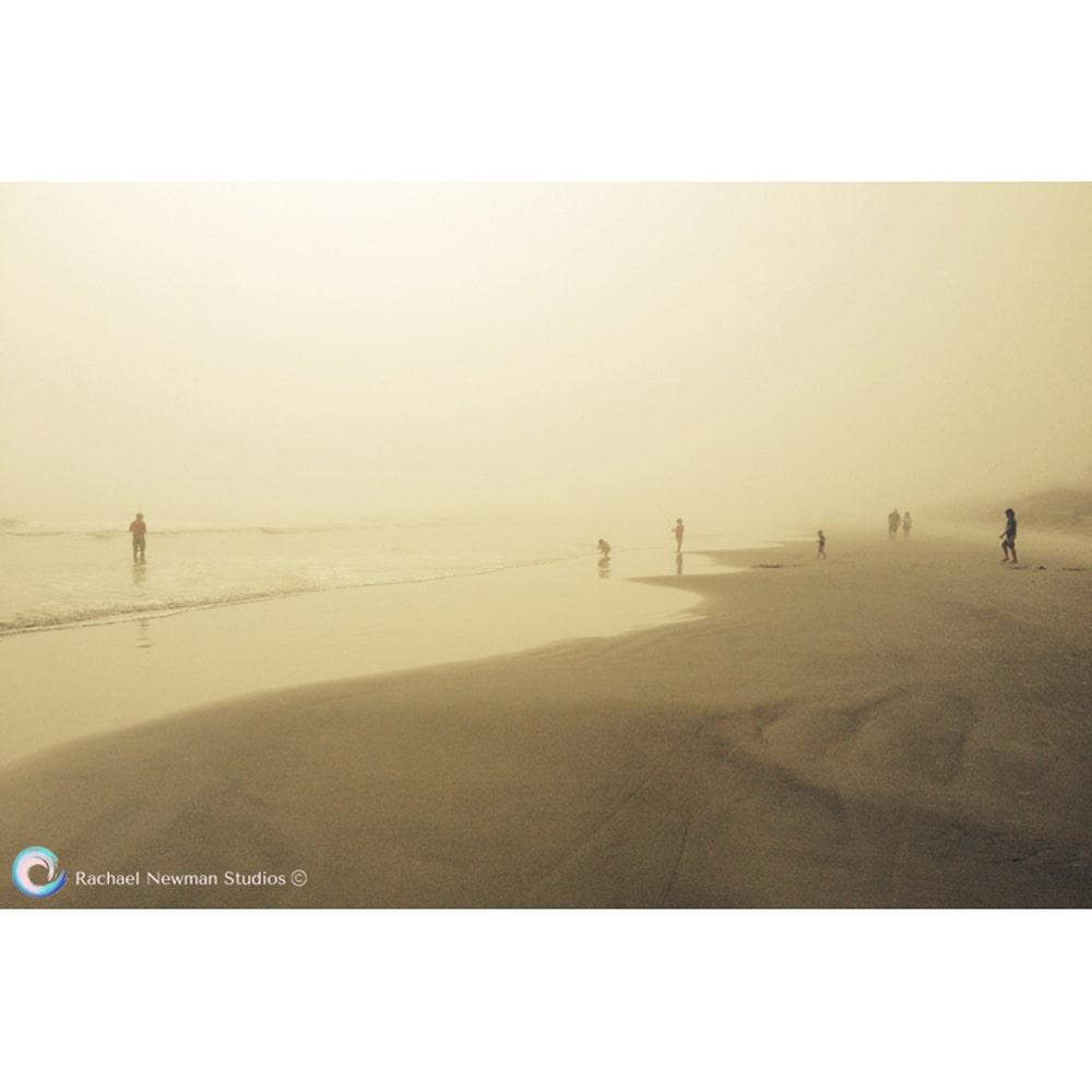 Misty Beach by Rachael Newman