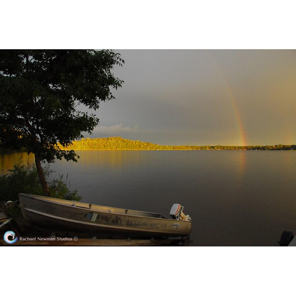 Rainbow Lake by Rachael Newman